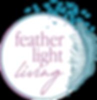 Feather Light Living Logo no text white