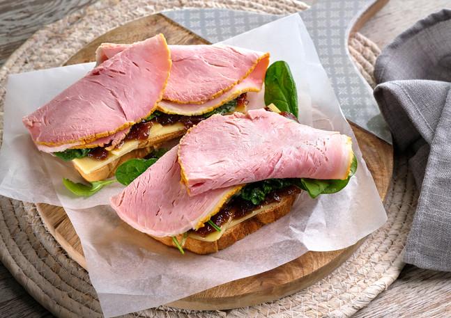 Sliced Ham Open Sandwich 2.jpg