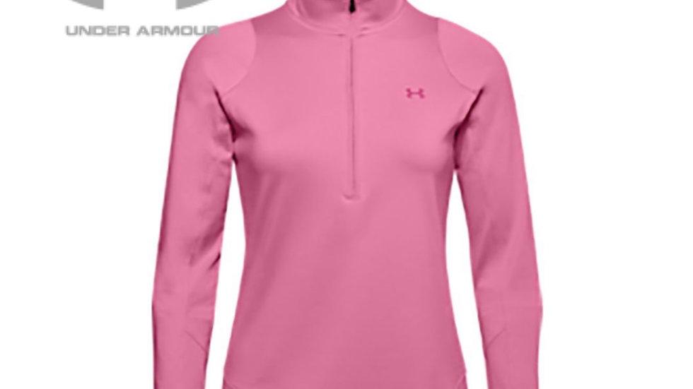 Under Armour Women's Half Zip Top Fleece Pink