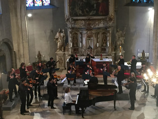 Le Concert de Julien Libeer et l'orchestre Les Métamorphoses