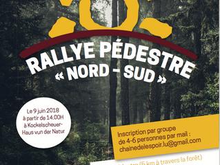 """Rallye pédestre """"Nord-Sud"""" à Kockelscheuer"""