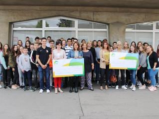 12000 euro koumen zesummen         Charity-Run vum LMRL