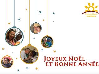Chaîne de l'Espoir Luxembourg vous souhaite de joyeuses fêtes de fin d'année!