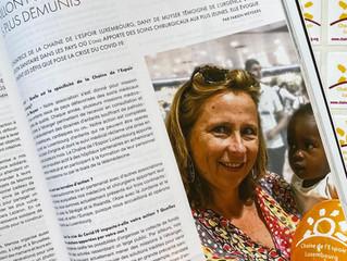Chaîne de l'Espoir Luxembourg - un maillon fort de l'aide médicale aux enfants les plus démunis