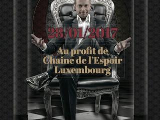 David Goldrake, en partenariat avec Chaine de l'Espoir Luxembourg