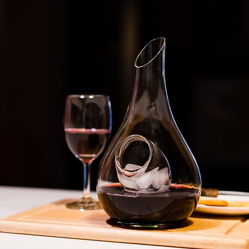 Innovative Handcrafted Wine Decanter