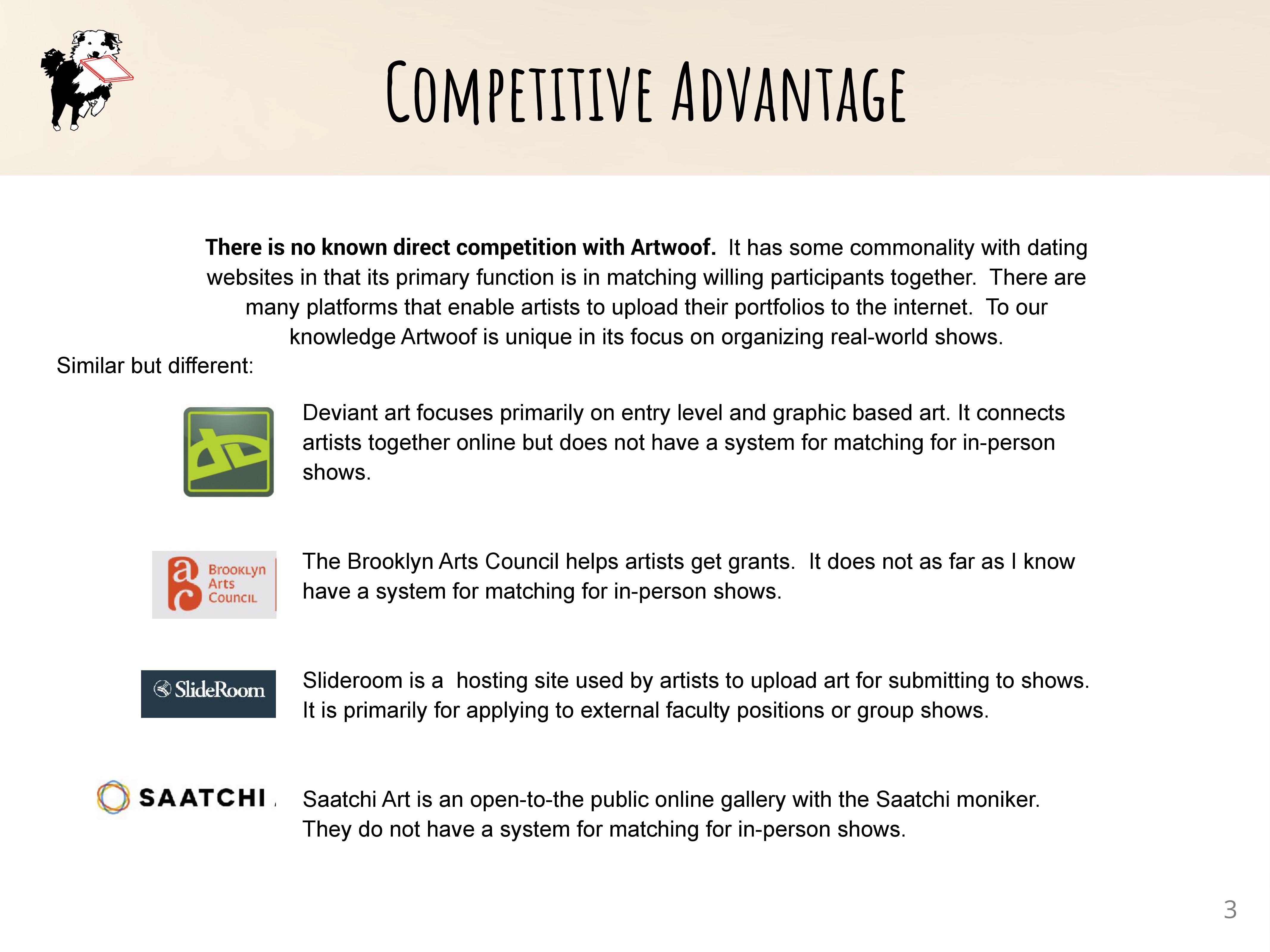 Competitive Analysis summary AW