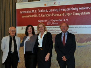 Opening of the Organ Competition