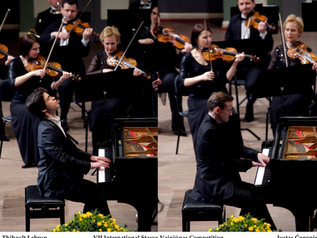 The young and talented in Kaunas State Philharmonic Hall!