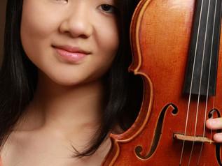 Winner of IV International Jascha Heifetz Competition for violinists Mayumi Kanagawa in Kaunas State