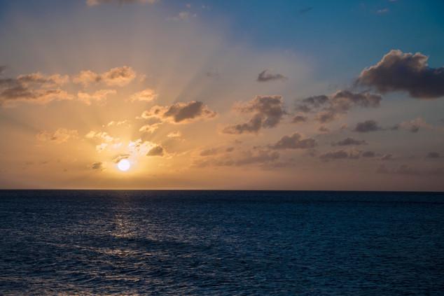Rainbow Beach Sunset