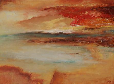 Romantiek inspiratie Turner, 40x30 olieverf