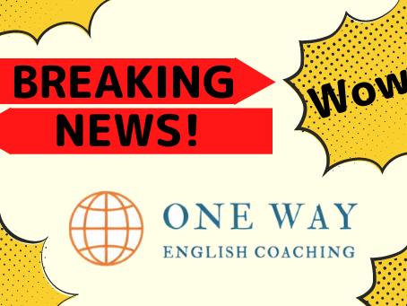 【※申し込み受け付けは終了しました※】英語コーチングONE WAY第4期・6ヶ月TOEIC600点コース募集開始!気になる概要・料金は?