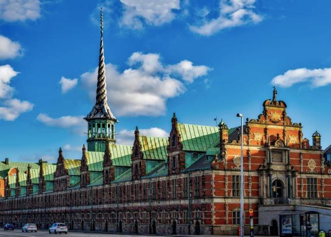 北欧デンマークの建物