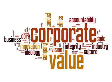 The Start-Up Corner: Values Create Value