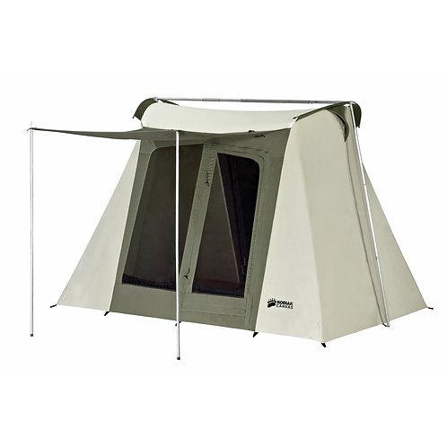 9 x 8 ft. Flex-Bow Canvas Tent - Deluxe