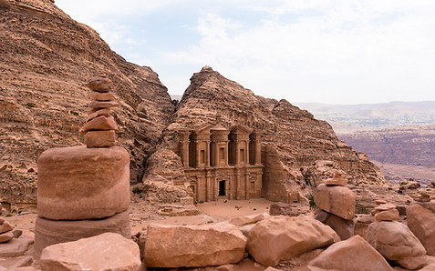 Monestary at Petra