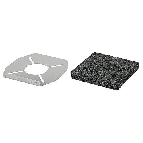 Lava Rock Grill Plate