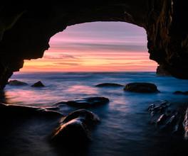 Ghosties Beach Cave