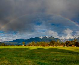 Lake Matheson Rainbow