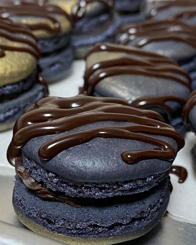 Order your midnight Macarons today. Mess