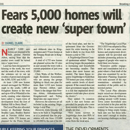 Fears 5000 Homes Will Create 'Super Town'