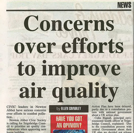 Concerns Over Efforts to Improve Air Quality