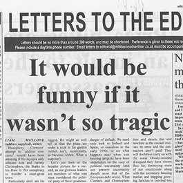 'It Would Be Funny If It Wasn't So Tragic'