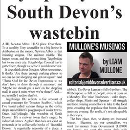 Have Some Sympathy For South Devon's Wastebin