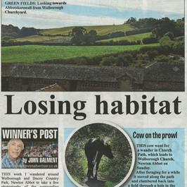 Losing Habitat