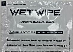 single wet wipes