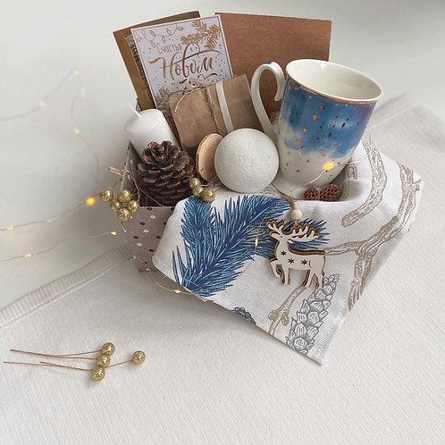 """Подарочный набор """"Christmas blue dreams"""""""