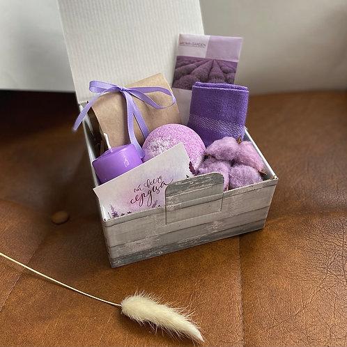 "Подарочный бокс ""Lavender spa"""