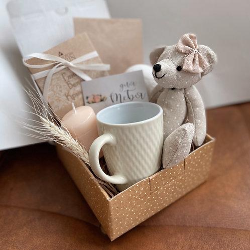 Купить подарочный набор в боксе My cute bear для мужчин и женщин в Москве