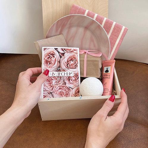 Подарочный бокс «Pink lady» купить в Москве