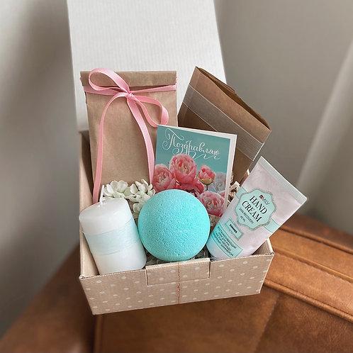 Подарочный набор «Blue and pink»
