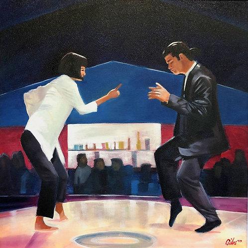 Jack Rabbit Slims (50cm x 50cm) -- Medium: Oil on Canvas