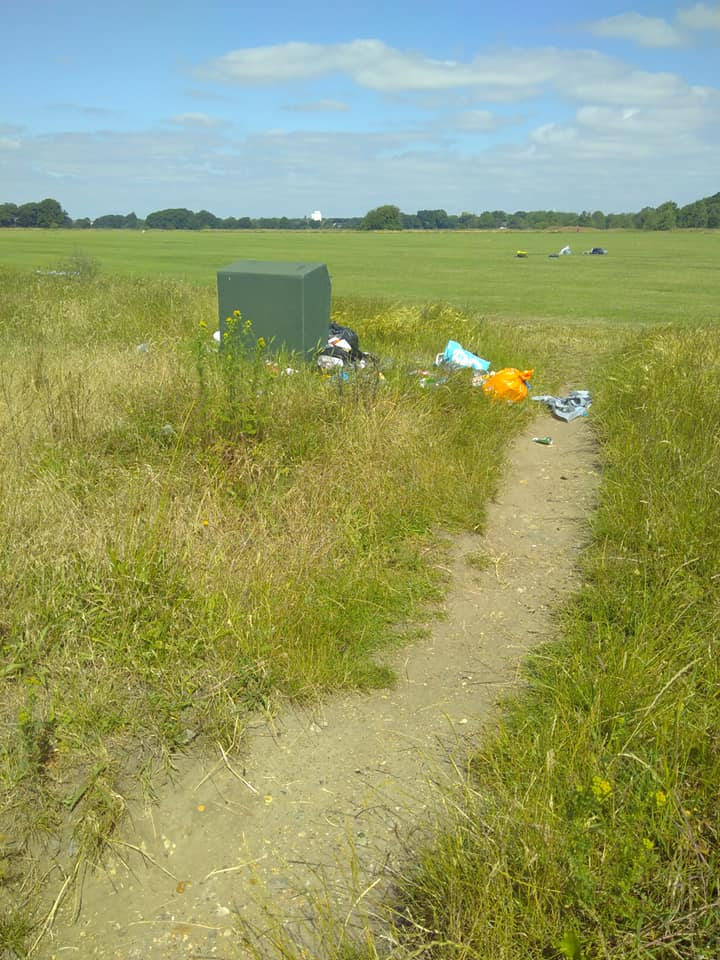 Wansted Flats ready for a litter pic