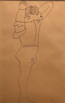 Standing Male Figure c.1955