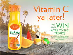 TROPICANA WINTER PROMOTION