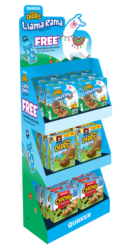 QUAKER DIPPS IN-STORE DISPLAY