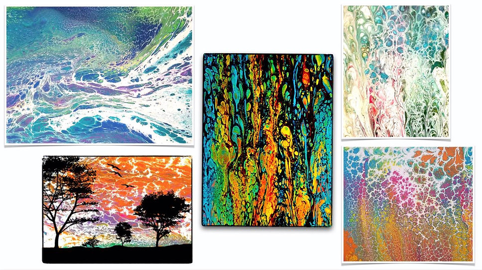 The Positivity Tree Art, Designs, Pictures and Paintings