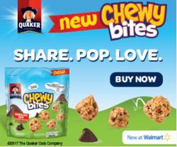 Quaker Chewy Bites Digital Ad