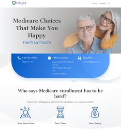 Legacy Insurance Website