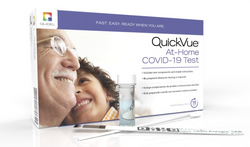 QUIDEL AT-HOME COVID-19 TEST PACKAGING