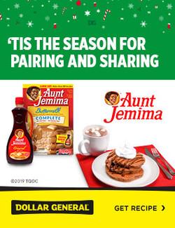 Aunt Jemima Holiday Ad
