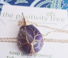 SUBSCRIBE FOR A CHANCE TO WIN THIS AMETHYST NECKLACE