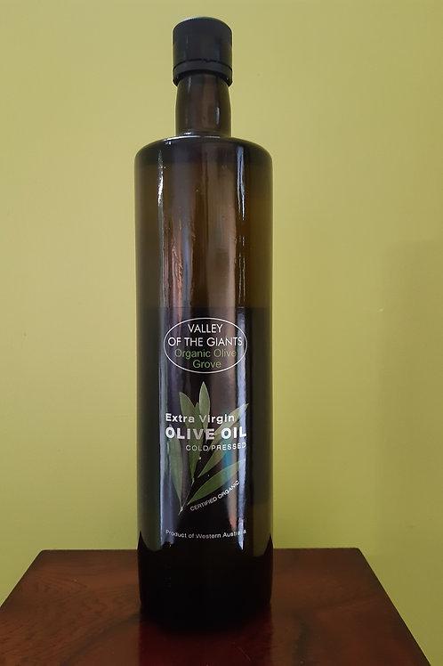 EXTRA VIRGIN OLIVE OIL COLD PRESSED (FRANTOIO) 1 Lt