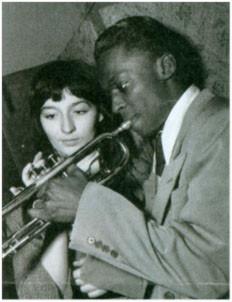 Juliette Gréco et Miles Davis