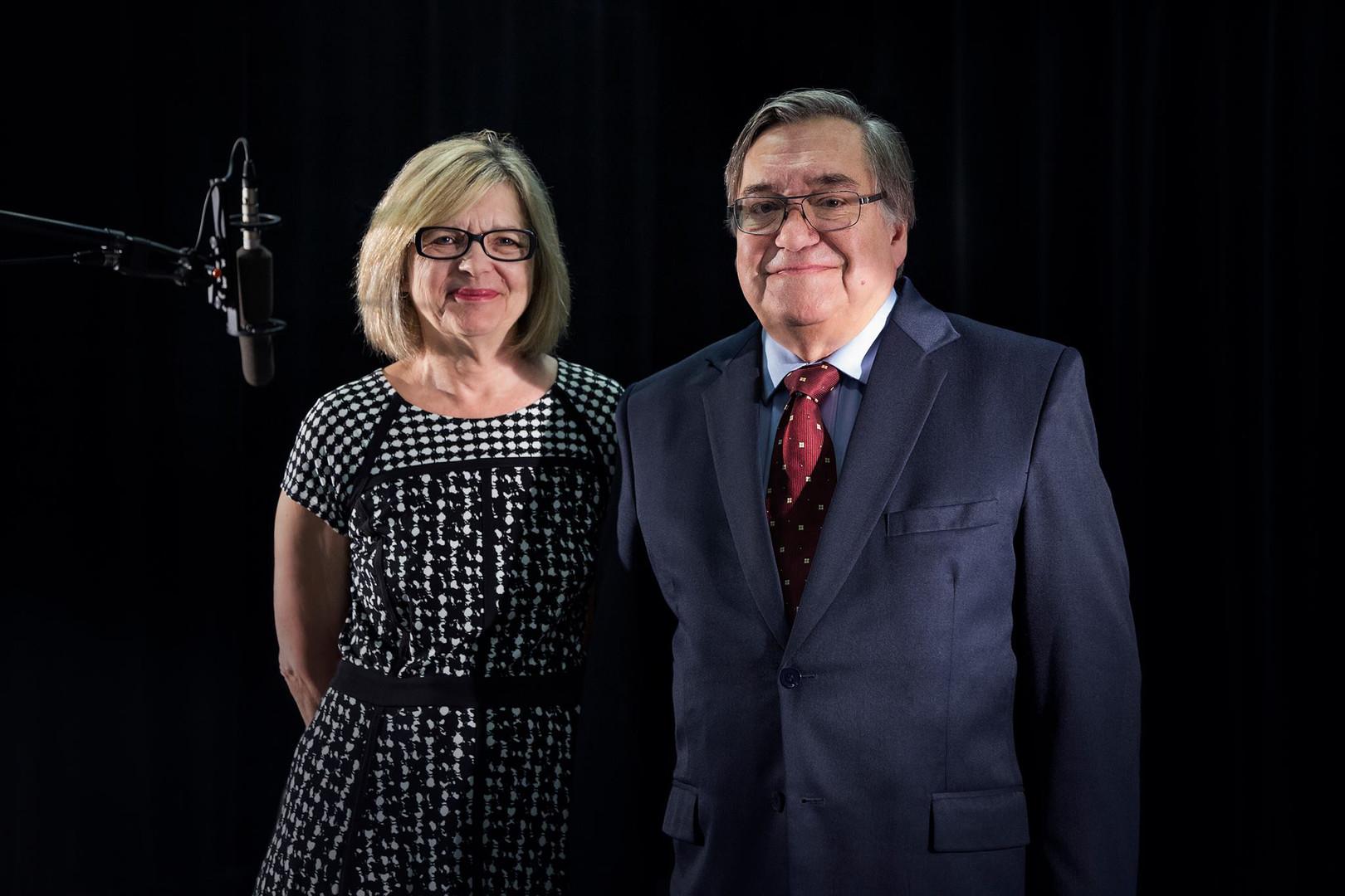 Hélène Pichette et Michel Duval